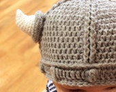 Crochet Pattern - Lael Viking Hat - All Sizes