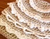 Crochet Hat Pattern - Hansel and Gretel Hat (Newborn to Adult)