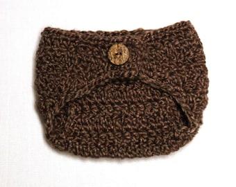 Crochet Pattern - Newborn Diaper Cover