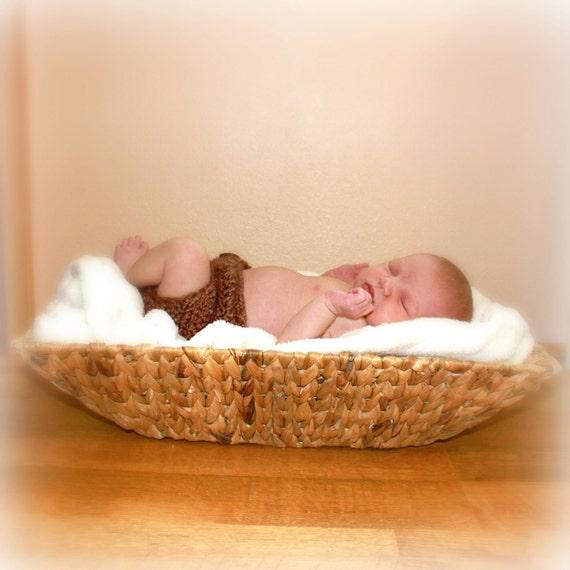Newborn Diaper Cover - PDF Crochet Pattern (Matches Bunnies n' Bears Hat)