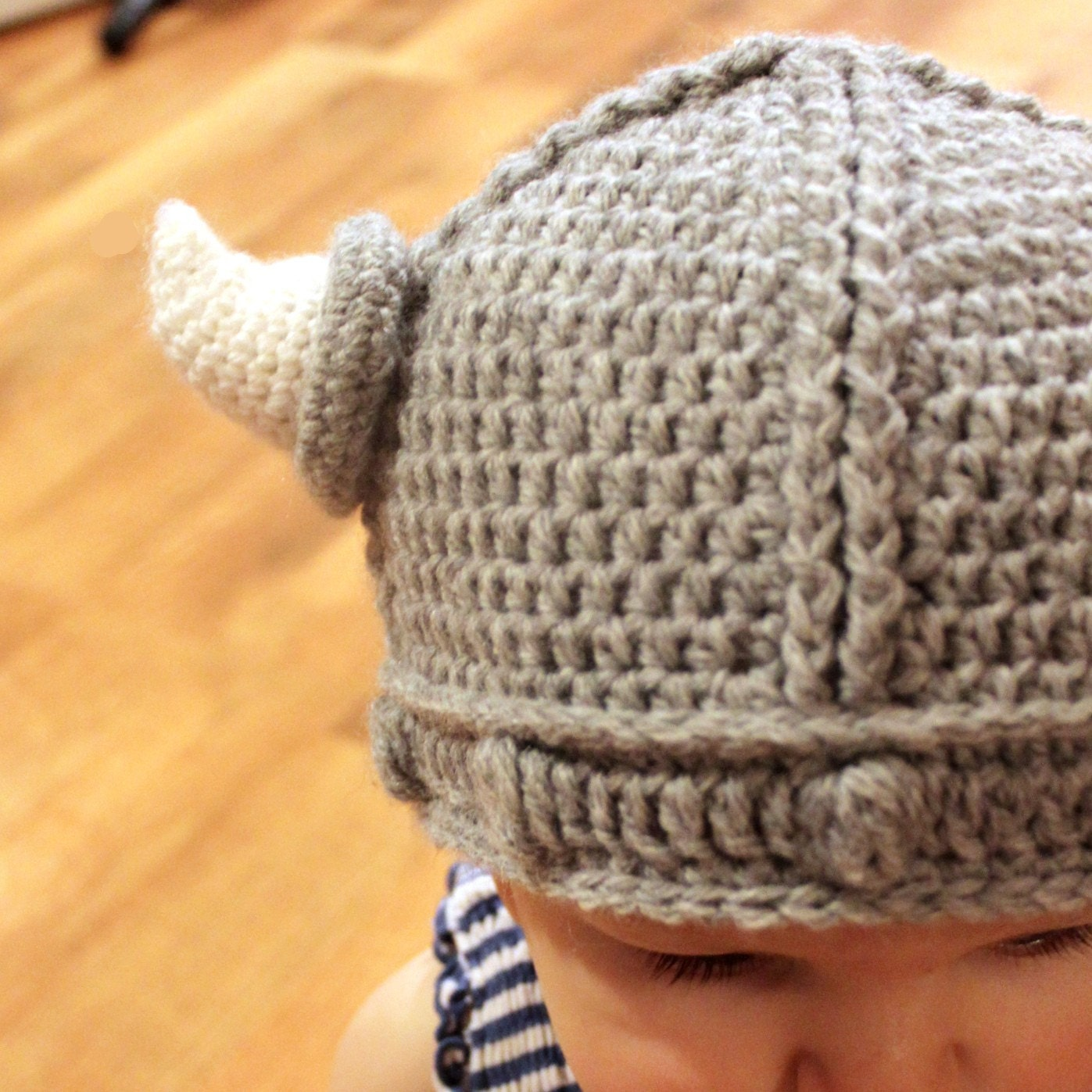 Free Crochet Patterns For Viking Hat : Crochet Pattern Lael Viking Hat All Sizes