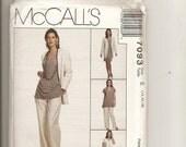 McCalls Jacket Dress Tunic Pattern 7093 Sz 14 16 18