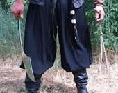 Pirate Pants Renaissance Medieval  Turkish style Harem pants