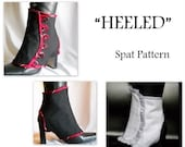 Heeled Spat Pattern