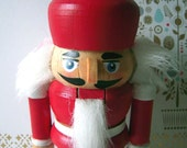 Nutcracker Mini Red and White Nutcracker
