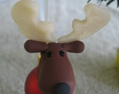 Morris Moose Christmas Tree Ornament-Made to order