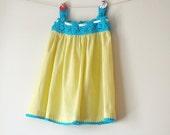 Items Similar To Crochet Yoke Spring Summer Dress Organic
