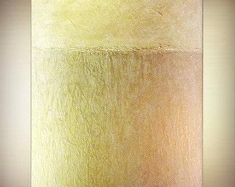 Art ORIGINAL abstract painting large acrylic textured impasto metallic contemporary modern fine canvas art by Carol Lee aka Leearte
