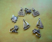Water Fun Charms 8 Piece