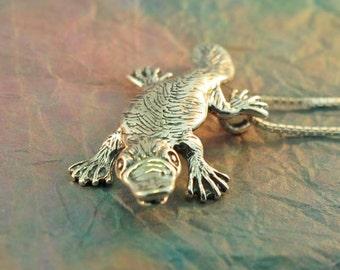 Platypus Charm Platypus Pendant Platypus Necklace Platypus Jewelry - Duck Billed Platypus