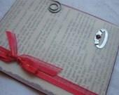 Handmade Card July Birthstone Ruby Birthday or Anniversary