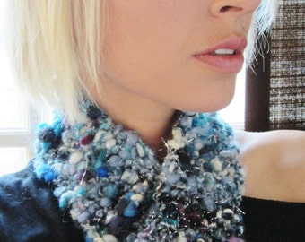 20% OFF  Winter Throw Down Hand Knit Scarflette