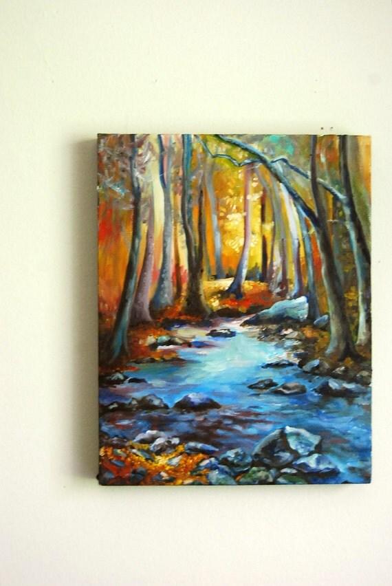 "Oil Painting on Canvas- Landscape 11""x14"""