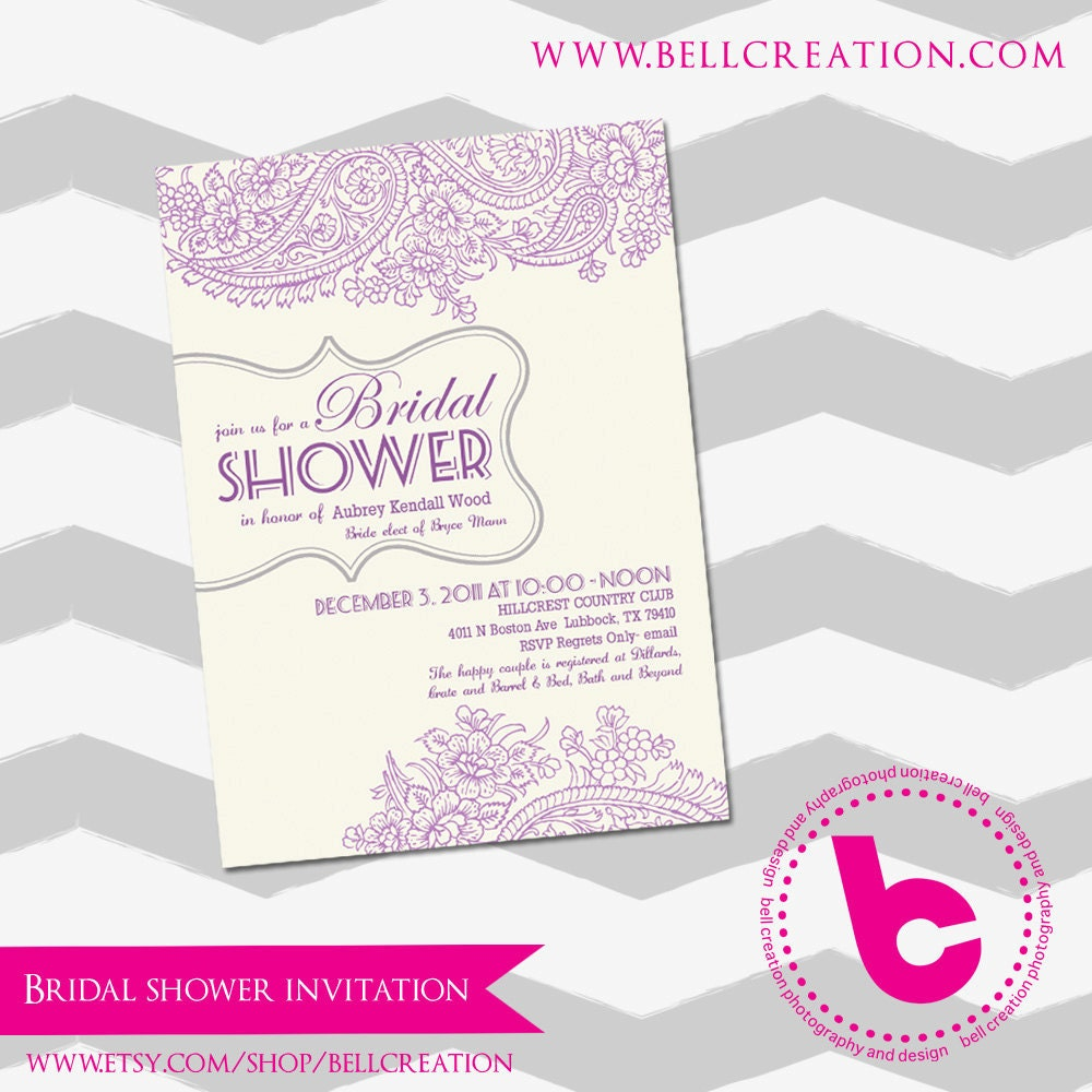 ... 13> Images For - Bridal Shower Invitations Templates Free Download