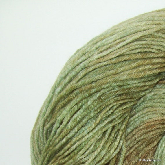 Merino sock yarn - NEW Sock82Me 8 ply in Sage Leaf