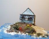 Old house on the beach