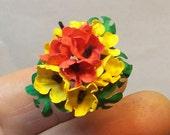 miniature bouquet 1/12 scale
