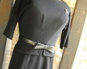 RESERVED for RareEssenceVintage WTF 20% OFF 1960s Little Black Dress