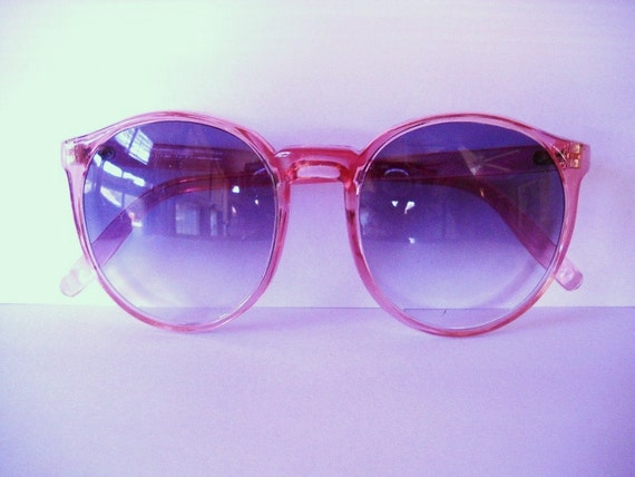 Vintage Sunglasses 1980s Rose Colored Foster Grant Sunglasses