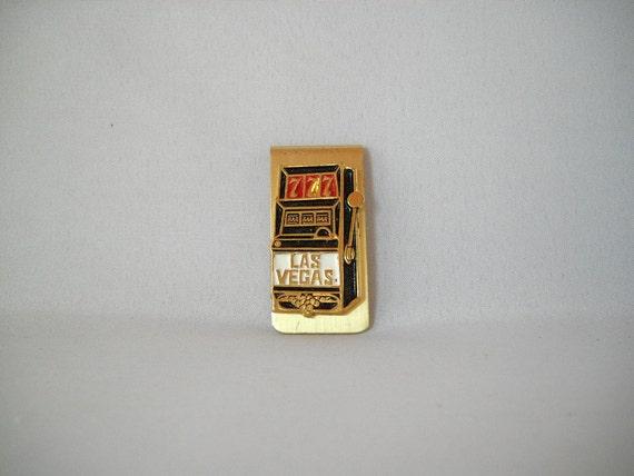 Vintage Money Clip Las Vegas Money Clip Slot Machine Man Gift Father's Day