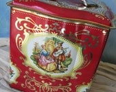 Courting Couple Tin - made in England