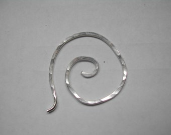 circle of life shawl pin