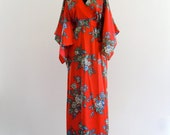 Reserved . Nov 6 . LiBerty HouSe HaWaii KiMono fLuTTer EmPiRe MaXi Gown DreSs . One Size . SML . D115 .
