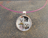 Pet Photo Pendant Necklace With Your Own Pet