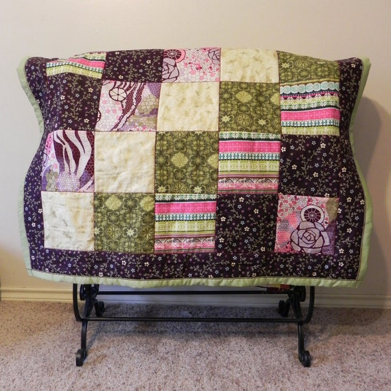 Dragonfly Quilted Throw Blanket