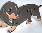 Doxie Paper Dolls - Set of 2