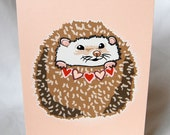 Hearty Hedgehog Greeting Card