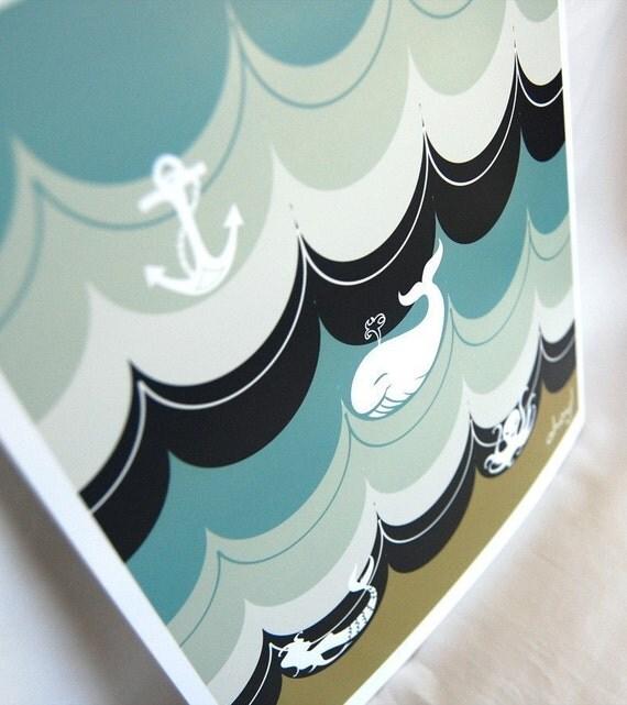Nautical Print - 8x10 Size