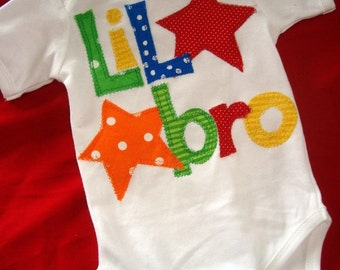 Lil' Bro Shirt, Sibling Shirt, New Baby, Baby Announcements, Sibling Photo Shoots, Big Brother, Big Sister, Little Sister