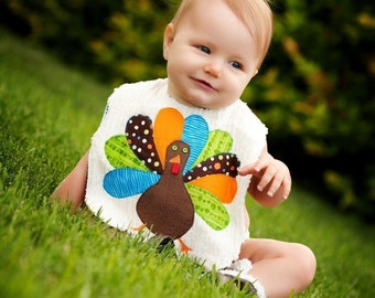 Thanksgiving Bib for Boys, Baby Boy Thanksgiving Outfit, Kids Holiday Shirt, Thanksgiving Shirt, Turkey Bib, Turkey Shirt, 1st Thanksgiving