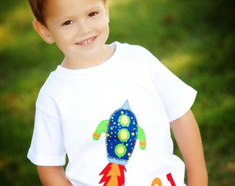 BLAST OFF Rocket Ship Shirt, Astronaut Shirt, Space Shirt, Birthday Shirt, Rocket Ship Birthday, Vacation Outfit, Unisex Shirt