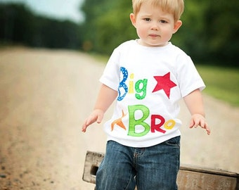 Big Bro Tee, Sibling Shirts, Sibling Photo Shoot, New Baby, Baby Announcement, Big Sister, Little Sister, Little Brother, Made To Order