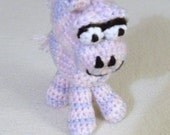 Pink Crocheted Pony