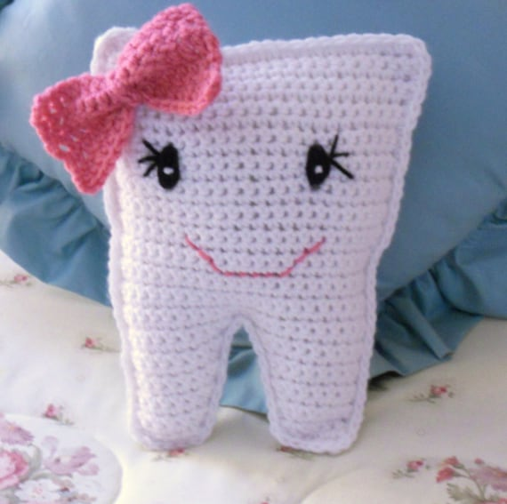 Crocheted Tooth Fairy Pillows