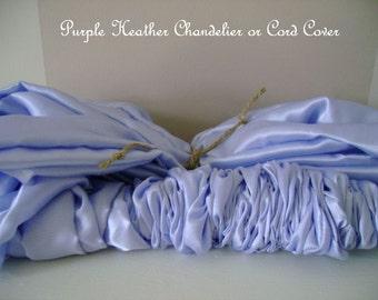 handmade chandelier cord cover etsy. Black Bedroom Furniture Sets. Home Design Ideas
