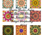 Graphic Goodies Inchies Digital Download for Glass Tile Pendants Art Journals Collages Scrapbooking