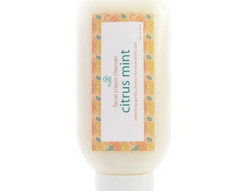 Citrus Mint Facial Cream Cleanser, Full-Size