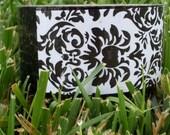 black damask tape