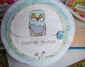 Custom -  Create Your Own I heart Brooch