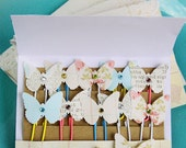 Dainty Butterfly PaperClips