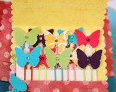 Cheerful Butterfly PaperClips