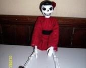 Rockabilly Rita Art Doll
