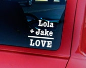 Arithmetic of Love Car Decal
