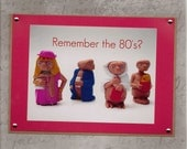Remember the 80's-Handmade Greeting Card for Vintage Lovers-ET-Extra Terrestrial