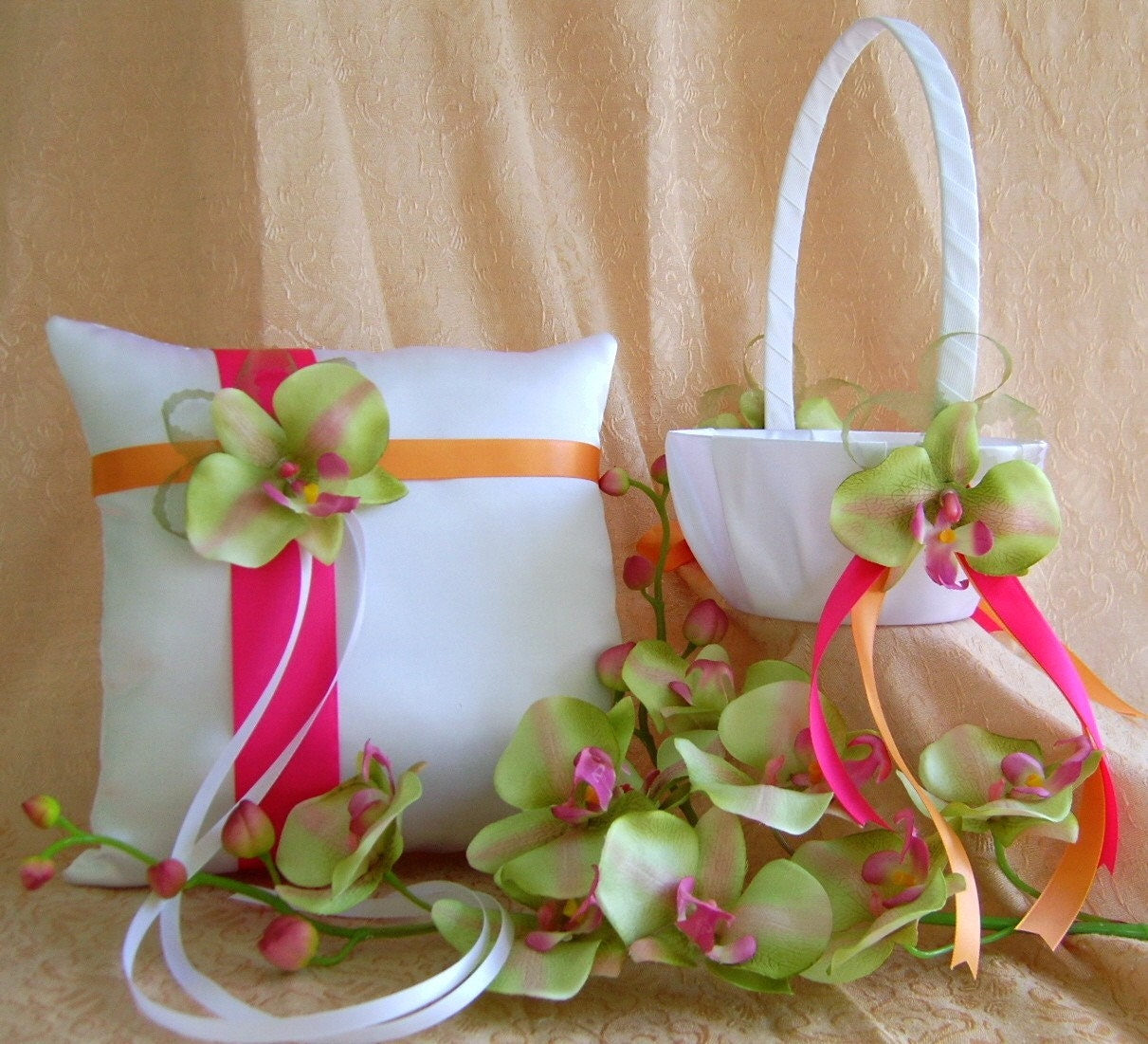 Lime Green Wedding Ideas: Lime Green Hot Pink And Orange Wedding Colors Chartreuse