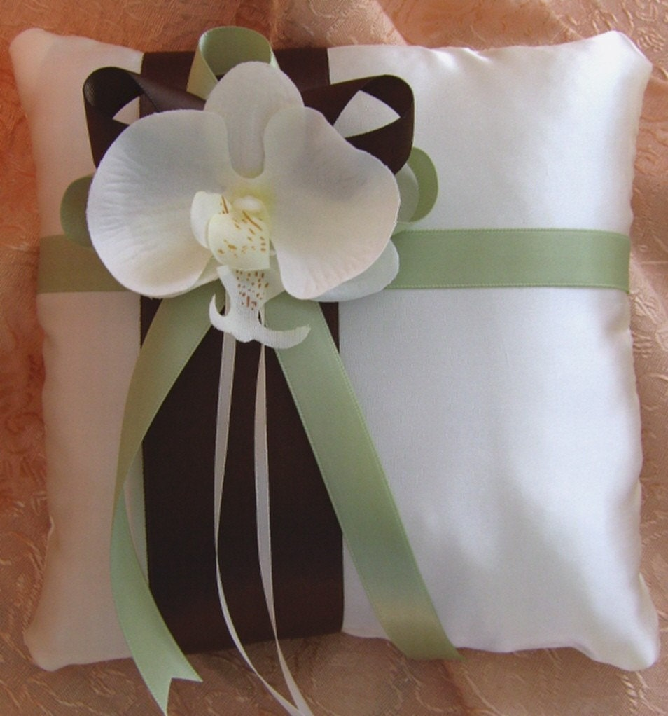 Chocolate Brown Sage And Ivory Wedding Colors Flower Girl